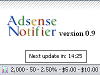 adsense_preview I vostri Guadagni sottocontrollo con Adsense Notifier