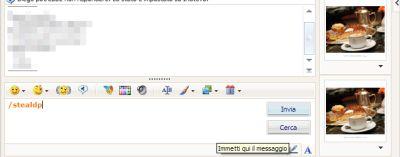 mess2 Usare limmagine di un altro contatto Messenger