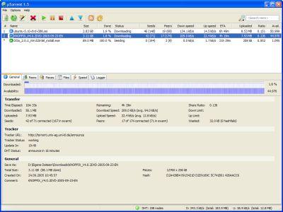 utorrent3 Scaricare in leggerezza con utorrent