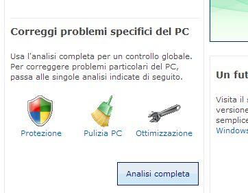 winlive Analizza e Proteggi il tuo PC con Windows Live