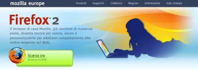 ffweb Rilascio ufficiale di Firefox 2