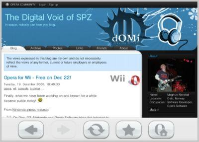 screenshot2 Browser Opera disponibile per Nintendo Wii