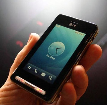 LG équipe le téléphone Prada de Jajah
