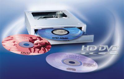 nec_2x_hd-dvd_drive Primo Film HD-DVD sulla Rete BitTorrent