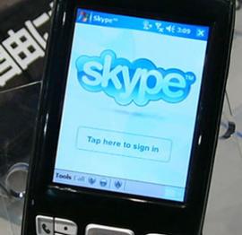 skype-mobile Skype non ancora pronto per i Telefonini
