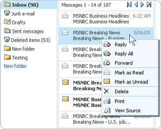 windows-live-hotmail Debutto ufficiale di Windows Live Hotmail