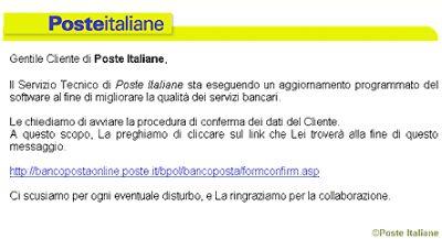 truffa-poste-italiane-bancoposta Phishing: Truffa a BancoPosta