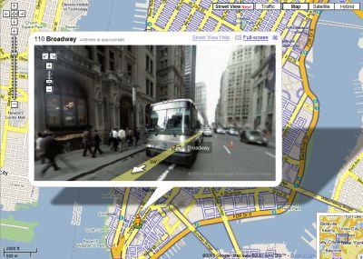google-street-view Street View di Google Maps esplora le strade della Città