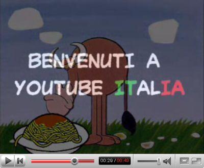 youtube-italiano-google YouTube in diverse Lingue. Anche in Italiano