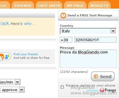 jaxtr-servizio-web20-inviare-sms-gratis-ricevere-chiamate-da-web Jaxtr servizio Web2.0 per inviare SMS Gratis e ricevere Chiamate dal Web