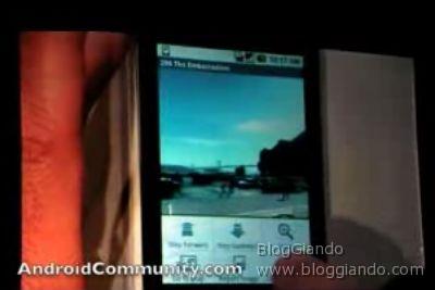 """Al \""""Google I/O\"""" dimostrazione di Android su un HTC Dream"""