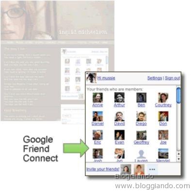 google-friend-connect-social-network-sito-api-opensocial Google Friend Connect porta il Social Network nel tuo Sito