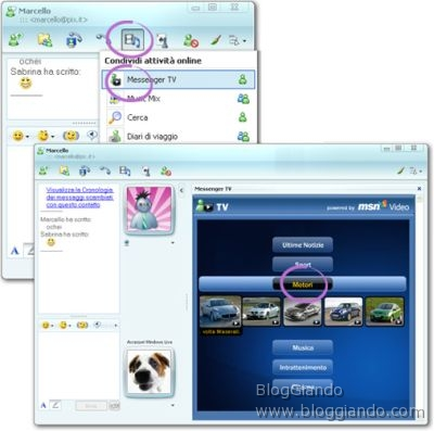 messenger-tv-vedere-commentare-video-windows-live-messenger1 Messenger TV: Vedere e Commentare un Video su Windows Live Messenger