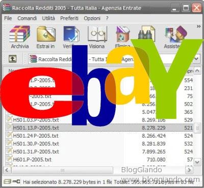 rettiditi-italiani-diffusi-tramite-ebay-denuncia Anche su eBay la dichiarazione dei Redditi 2005 degli italiani