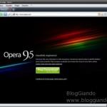 Opera 9.5 disponibile 5 giorni prima di Firefox 3