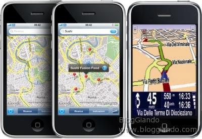 TomTom porta il proprio software sull\' iPhone 3G