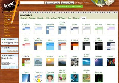 google-introduce-i-temi-per-gmail Google da un tocco di stile a Gmail. Arrivano i Temi!