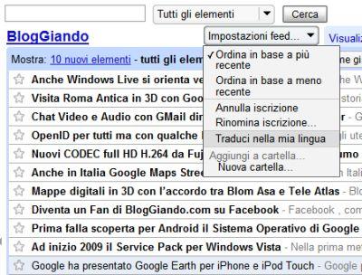 google-reader-traduce-nella-tua-lingua-i-feed-rss Google Reader traduce nella tua lingua i Feed RSS