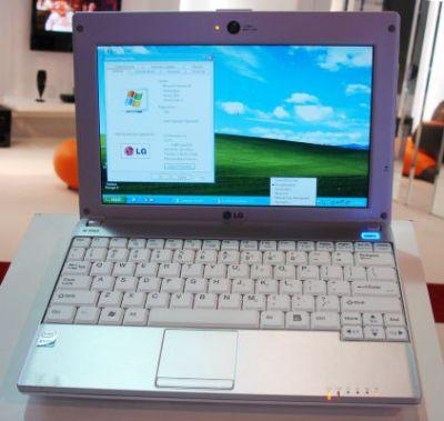 lg-x110-netbook LG propone un nuovo Netbook in esclusiva con Wind
