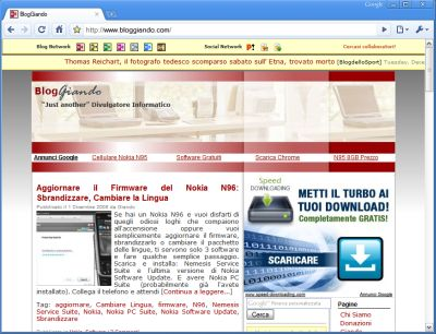 Google rilascia Chrome 2.0 pre-beta