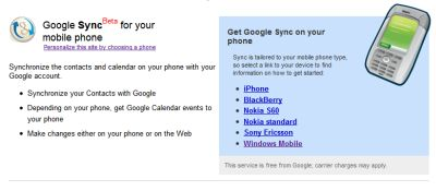 google-sync-disponibile-per-iphone-e-windows-mobile Google Sync disponibile per iPhone e Windows Mobile