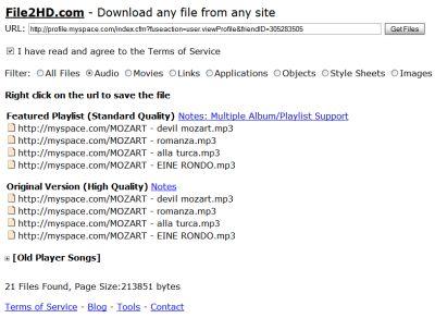 scarica-musica-mp3-gratis-da-myspace Scarica Musica MP3 Gratis da Myspace