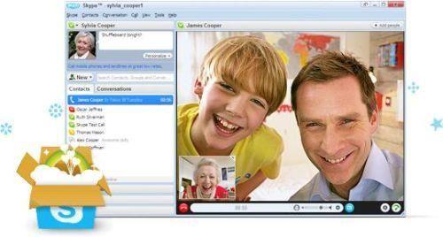 skype-40-si-rifa-il-look-e-aggiunge-molte-migliorie Nuovo Skype 4.0: Nuovo Look e Videochiamata migliorata