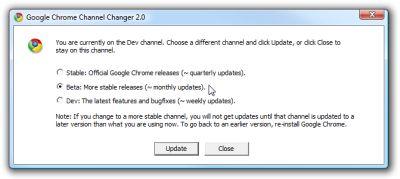 googlechannelchooser Google Chrome aggiunge il supporto per gli User Scripts