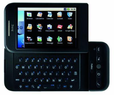 htc-dream-fronte-aperto-oriz-icone-google-android-sbarca-in-italia HTC Dream e HTC Magic: Google Android sbarca in Italia!