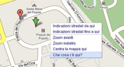 Che cosa c'è qui ve lo chiede Google Maps