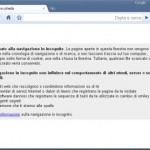 Navigare in incognito con Google Chrome