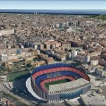 Google Earth disponibile Barcellona in 3D