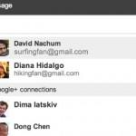 I contatti di Google+ integrati in Gmail